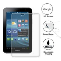 Wholesale Qiaogle Anti explosion Tempered Glass Screen Protector Ultra Hard For Samsung Galaxy Tab inch P3100 P3110 Premium Screen Protector