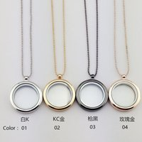 asian glasses frames - 2016 Hot Product Women Jewelry Valentine s Day Gift Smooth Round Box Glass Pendant Necklace Photo Frame Unisex Alloy Necklace NICE