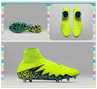 ag products - New Product s League Soccer Shoes Men s Hypervenom Phantom II FG AG Yellow Football Boots Sneakers Running Shoes