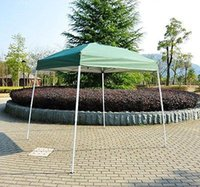 Wholesale Outdoor x Slant Leg Easy Pop Up Sun Shade Canopy Gazebo Party Tent Green