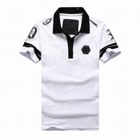 Cheap Exempt postage men leisure brand PP short sleeve, spring, summer, cotton leisure with short sleeves. hip hop men camisetas masculina summer