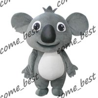 best koala costumes - Best price Koala Mascot Costumes Adult Size for Halloween party Mascot Costumes