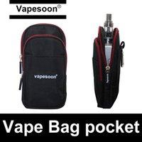 bagged vw - Vapesoon Bag Pocket for ecigarettes box mods vape atomizer mechanical mod VW box mod storage for electronic cigarettes vaporizers freeship