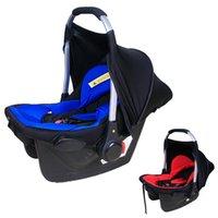 Asientos al por menor al bebé recién nacido la seguridad del coche del amortiguador de la horquilla portadora de asas ajustable cesta Cuna de los años 0-2 del asiento de coche portable VT0278