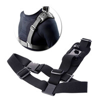 Wholesale Go pro Hero3 Accessories Shoulder Strap Mount Sj4000 Camera Chest Harness Belt Adapter For GoPro hero Black Edition