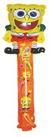 aluminum bob - sponge Bob foil balloon Inflatable cheering stick aluminum handheld stick party supplies