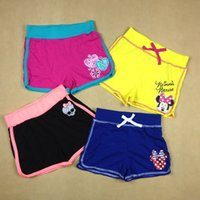 Wholesale Pieces Years Children s Girl Summer Cotton shorts Girl Casual Sport Pants