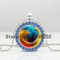 american solar - New Earth Necklace Planet Crystal Pendant Jewelry Solar System Ball Chain Glass Cabochon Crystal Necklace