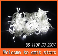 Wholesale free ship m M M M M LED String Fairy lights Red Blue white Colorfull Wedding lights Twinkle light