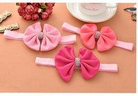 baby ebay - Baby Girls Stripe Bow Headbands Kids Hair Accessories Ebay Amazon Hot Sale Infant Small Band Headbands