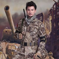 Wholesale CS Paintball suit Combat BDU Uniform Hunting Camoouflage Suit Wargame COAT and PANTS Set Tactical Jacket set