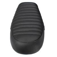 Wholesale Universal Motorcycle Cafe Racer Seat Black Flat Custom Vintage Saddle For Honda