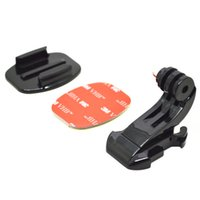 adhesive surface - Go pro Accessories J Hook Buckle Holder M Adhesive Sticker Flat Surface Mount Adapter for GoPro Hero SJ4000 GP57