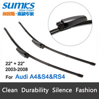 audi wiper arm - Wiper blades for Audi A4 S4 RS4 quot quot fit slide type wiper arms only HY