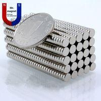 Wholesale 500pcs mm x mm magnet D5x2mm magnets x2 N35 magnet D5 permanent magnet x2mm rare earth mmx2mm magnet