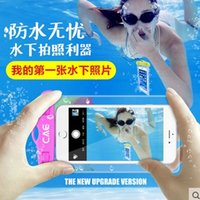 bag phone pictures - General touch screen mobile phone waterproof bag CAE underwater pictures apple s plus cartoon swimming diving phone sets