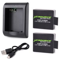 Wholesale Xcsource Micro USB Charger x mAh Lithium Digital Battery For SJ4000 Actiong Sport Camera BC426