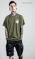 Wholesale New Brand Hip Hop T Shirts Diamond shield T Shirts Men Women Crewneck T Shirts