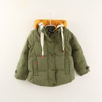Wholesale 2016 boy winter jacket high end thick even cap down childrens sleeves could be remove vest jacket