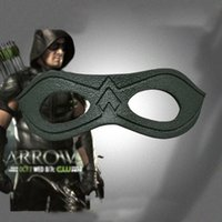 arrow sizes - Green Arrow Season Oliver Queen Mask Cosplay Mens Eye Patch Party Halloween