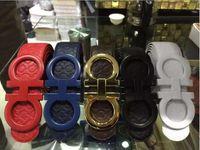 belt straps for buckles - 2016 Large Buckle Fashion Mens Belts Luxury Leather Genuine Belts For Mens Designer Belt Gold Smooth Buckle Cowboy Hip Strap Size cm