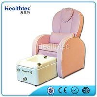 beauty salon pedicure chair - kids Simple viberating Massage Pipless Jet Whirlpooling Fiberglass Basin Manicure and Pedicure Spa Chair for Nail Beauty Salon Equipment
