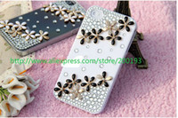 Wholesale 2015 NewFashion daisy jewelry accessories DIY kit mobile phone case decoration jewelry material