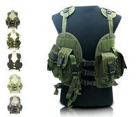 Wholesale US Navy Seal tactical sports vest CQB LBV Modular Tactical Assault Vest colors