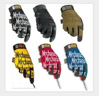 Wholesale 2016 Top Selling MECHANIX WEAR Seal Gloves Tactical Outdoor Men s Gloves Racing Gloves Military Riding Sports Full Gloves
