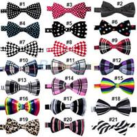 Wholesale Fashion Novelty Mens Unique Tuxedo Bowtie Wedding Bow Tie Necktie Styles Pick BA1B