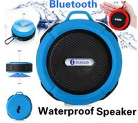 Cheap C6 Water proof outdoor sports Mini Speaker Wireless Mini Bluetooth Speakers supports speaker for samsung S6 iphone 6 with reatil packaging
