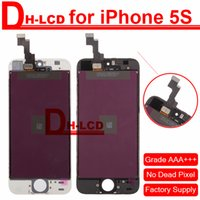 bad touch - 100 AAA NO BAD PIXELS For iPhone S Display Touch Screen LCD Digitizer LCD Assembly Full Frame in DHL Shipping Free
