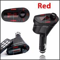 audio control mmc - MP3 Music Player Car Mp3 Player car audio Car Kit Wireless FM Transmitter Radio Modulator USB SD MMC Remote Control