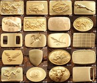 Wholesale Retail Belt Buckle Copper Dragon Horse Eagle Belt Buckle many styles for choices