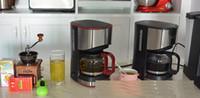 Wholesale KG01 American household fully automatic drip coffee machine tea machine cup semi automatic coffee machine coffee maker