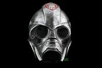 adult back pack - Horror Movie Resident Evil Spooky Resin Mask Halloween Party Cosplay CS Protective Gas Masks Carton Packing High Quality