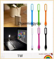 Wholesale USB led light W White light soft led bulb flexible light lamp V led lights with USB for computer power bank