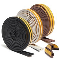 Wholesale 5M Self Adhesive P type Foam Seal Strip Draught Window Door Excluder Rubber Perfect for Doors and Window