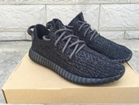 Wholesale 2016 classic KANYE WEST X BOOST MEN RUNNING SHOES sneakers breathable shoes Y Sports Net drive Leisure fashionable shoes