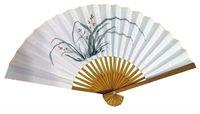 Wholesale Home Living Color Paper Fans For Home Decoration