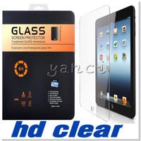 Wholesale For iPad Mini NEW Ipad PRO PRO inch Screen Protector Shatterproof Anti Scratch HD Clear iPad Mini iPad Air Tempered Glass free DHL