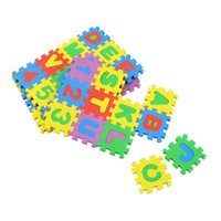 Wholesale Colorful Puzzle Kid Educational Toy A Z Alphabet Letters Numeral Foam Mat Play Mat