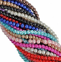 Wholesale 1000Pcs Pearl Mixed Nnice Spacer Beads mm mm mmFor Jewelry Free Ship