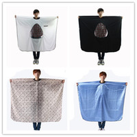 Wholesale Professional Hairdresser Apron Haircut Umbrella Make Up Cape For Barber Hair Salon Aprons Salon Hair Cuts Waterproof Cape