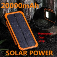 battery powered led lantern - 2016 SUPER NEW hot sale mAh Solar Power LED camping lantern Bateria Pack Energy Bank Solar Battery Charger Powerbank free shiping