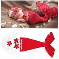 baby photo vest - 2017 Fashion Newborn Baby Girls Little Mermaid Soft Crochet Knit Costume Baby Photo Props Fotografia Memory Accessory MC0448
