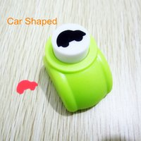 Wholesale 15MM Car shaped craft punch paper hole puncher for scrabook DIY gift card puncher embossing machine furador de papel M size