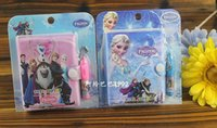 Wholesale 2016 Children Girls Boys Note Book Gifts Cartoons Frozen Office School Supplies Stationery Books With Pen Kids B3855
