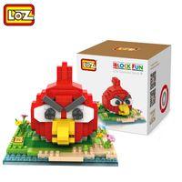 angry diamond - LOZ Angry Bird Diamond particles Building Blocks Sets Anime Figures Bricks Kids Toys Gift Items Brick toys Blocks Parts cm