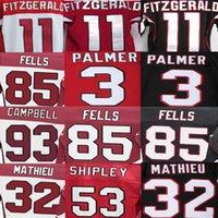 american campbell - Carson Palmer Jersey Tyrann Mathieu Larry Fitzgerald A Q Shipley Calais Campbell Darren Fells American Football Jerseys Elite Sport